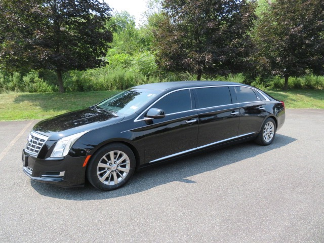 Used 2015 Cadillac S&S 47 inch stretch Limousine for sale $59,500 at Heritage Coach Company in Pottstown PA