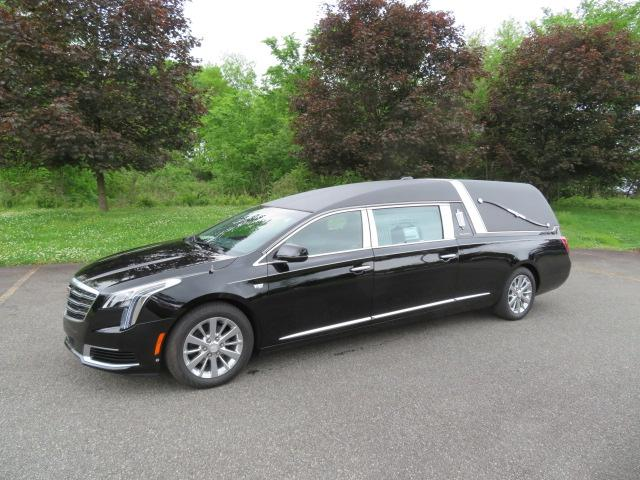 New 2019 Cadillac S&S Medalist Hearse for sale Call for price at Heritage Coach Company in Pottstown PA