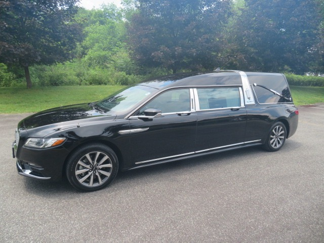 New 2019 Lincoln Continental S&S Majestic Hearse for sale Call for price at Heritage Coach Company in Pottstown PA