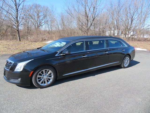 Used 2017 Cadillac S&S 52 inch Raised Roof Limousine for sale $74,500 at Heritage Coach Company in Pottstown PA
