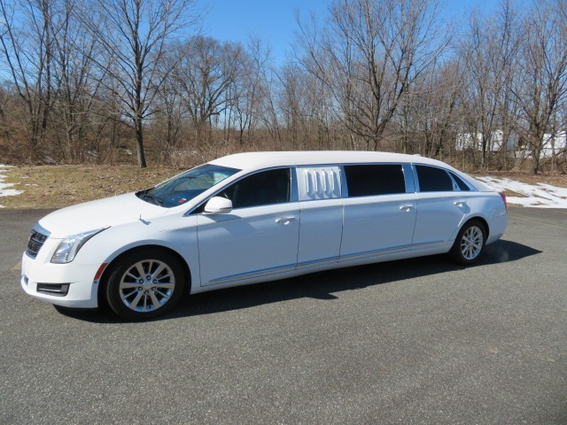 Used 2017 Cadillac S&S Raised Roof 70 Inch Stretch Limousine for sale $82,000 at Heritage Coach Company in Pottstown PA